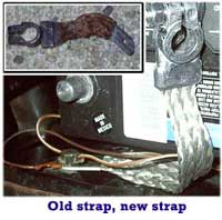 Old Battery Ground Strap, New Strap